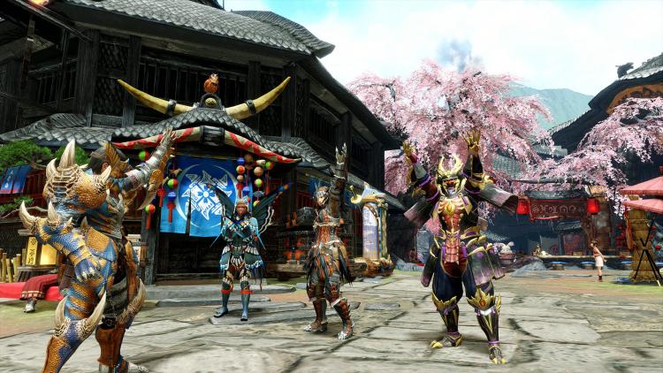 Capcom раскрыла системные требования Monster Hunter Rise для игры в 1080p при 30 кадрах/с