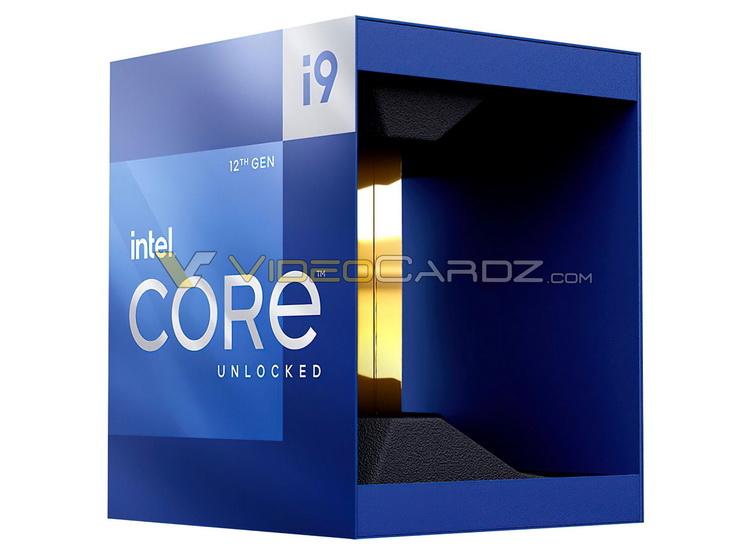 Стал известен внешний вид коробок Core i9-12900K и других Alder Lake