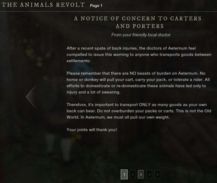 Трудности с одомашниванием: в New World забавно объяснили отсутствие ездовых животных