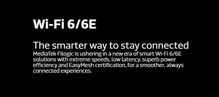 MediaTek представила системы-на-чипе Filogic 830 и Filogic 630 с поддержкой Wi-Fi 6