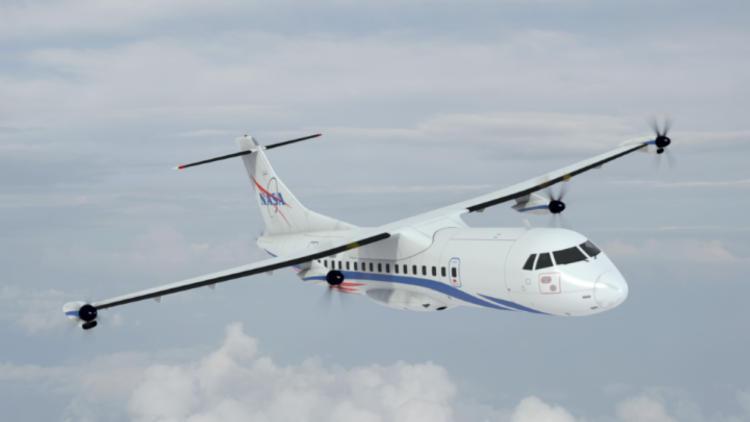 """NASA профинансировало разработку электродвигателей для узкофюзеляжных авиалайнеров"""""""