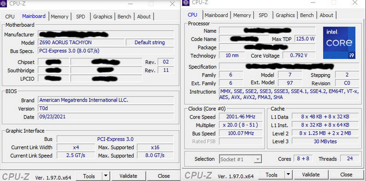 Системе на Core i9-12900K покорился режим работы памяти DDR5-8000
