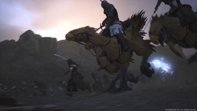 Команда разработки Final Fantasy XVI уже почти закончила с побочными квестами и моделями персонажей