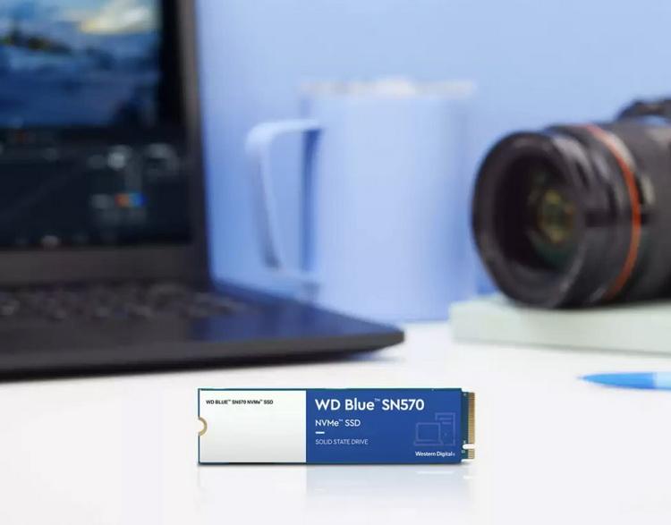 Western Digital представила доступные NVMe-накопители WD Blue SN570 со скоростью до 3500 Мбайт/с