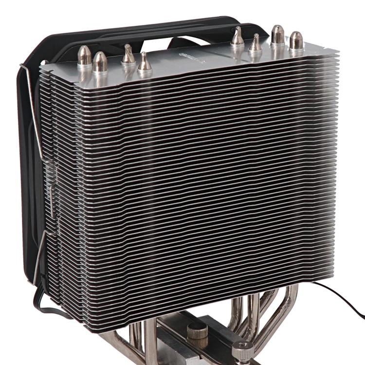 Представлен массивный процессорный охладитель Silent Cooler OWL-SC200 со 130-мм вентилятором