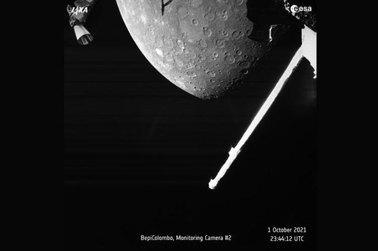 """Видео: 53 изображения Меркурия, которые прислал аппарат BepiColombo"""""""