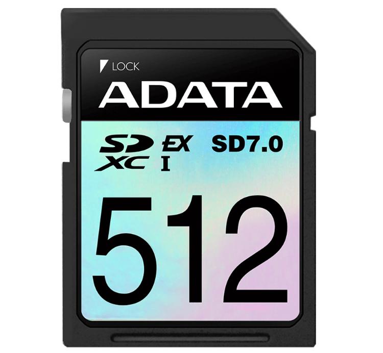SSD в миниатюре: карты памяти ADATA Premier Extreme SDXC SD 7.0 Express Cardобладают скоростью до 800 Мбайт/с
