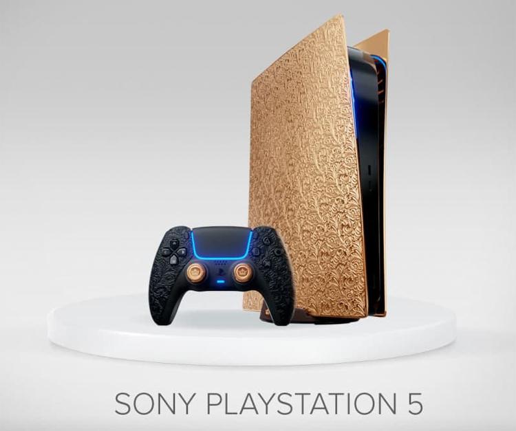 Золотая консоль Sony PlayStation 5 от Caviar обойдётся в 22 900 000 рублей