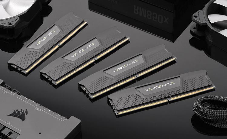 Corsair показала готовящиеся к выпуску модули памяти DDR5 Vengeance