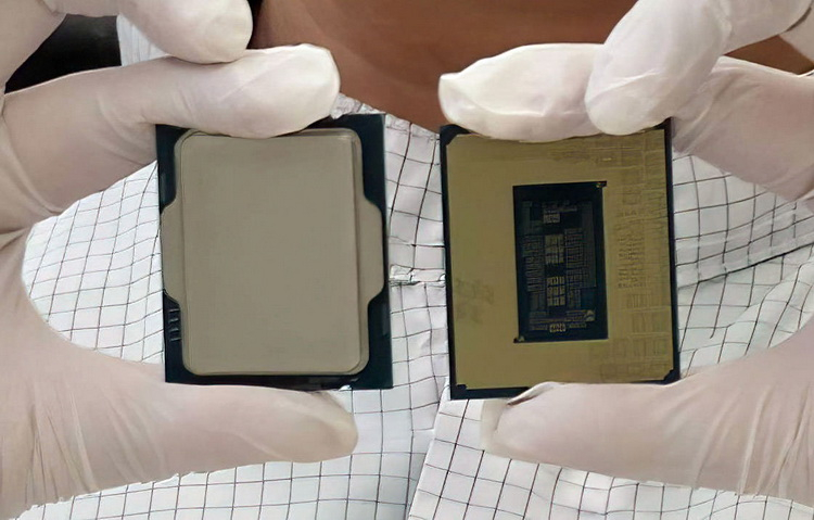 Intel живьём показала процессоры Alder Lake-S