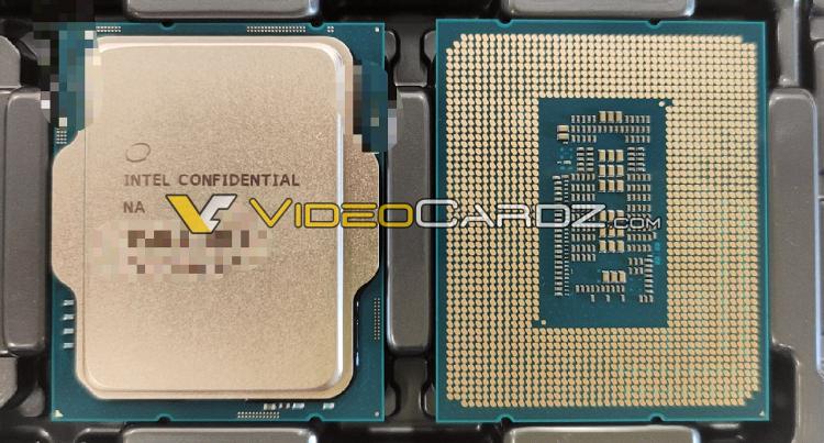Инженерный образец процессора Alder Lake-S первой ревизии (ES1)