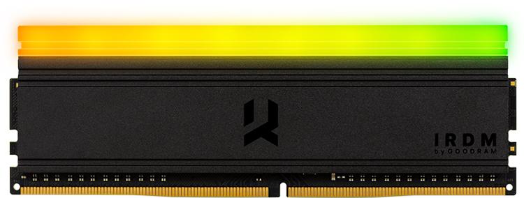 Goodram представила модули памяти IRDM RGB DDR4 с эффектной подсветкой