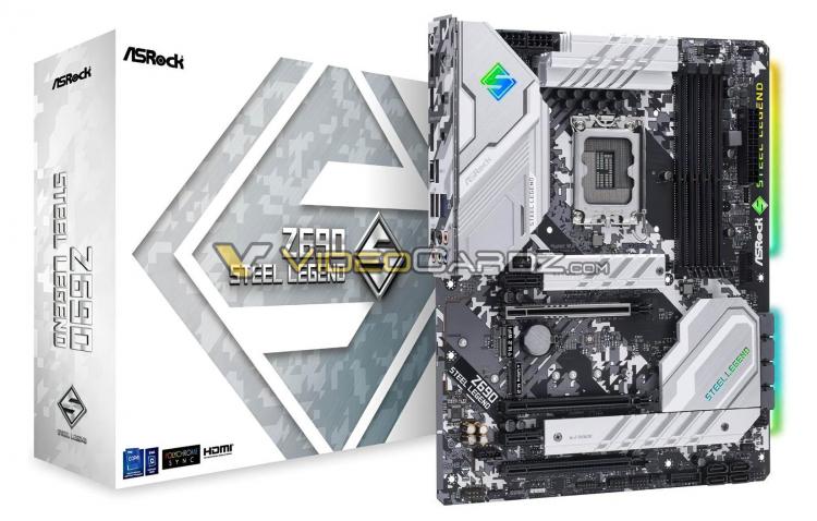 """Материнские платы ASRock Z690 Taichi, Extreme, Steel Legend и Phantom Gaming показались на изображениях"""""""