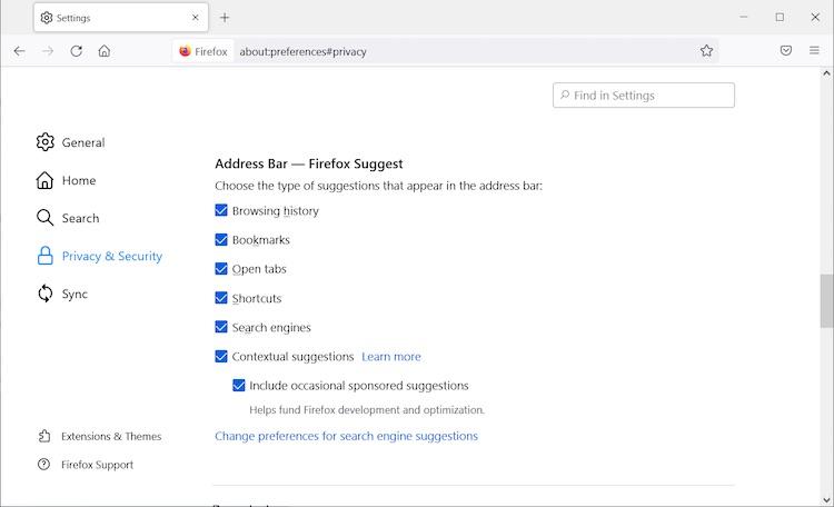 Браузер Firefox начал показывать рекламные предложения в адресной строке1