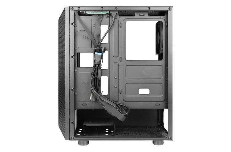 Antec выпустила недорогой игровой корпус NX250 с поддержкой до 8 вентиляторов