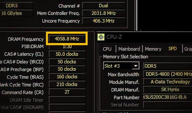 ADATA разогнала память DDR5 до рекордной частоты —8118 МГц