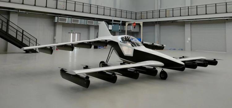 """Tetra показала испытательный полёт электролёта Mk-5, который выйдет на рынок в следующем году"""""""