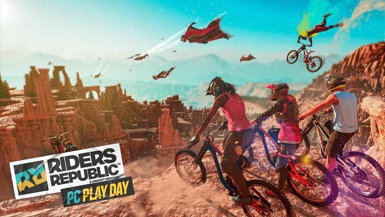 """На следующей неделе Ubisoft устроит день бесплатной игры в ПК-версию Riders Republic"""""""