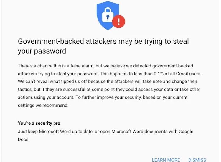 """Google отметила рост активности хакеров в Gmail— проводятся масштабные фишинговые кампании"""""""