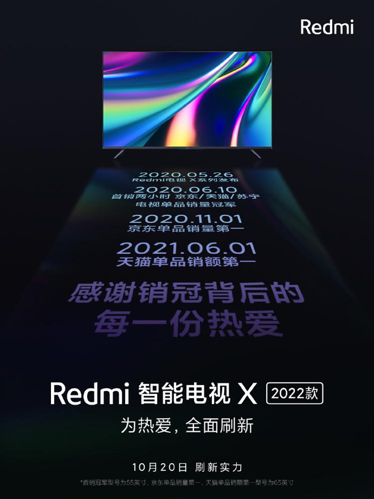 Xiaomi готовит умные телевизоры Redmi Smart TV X модельного ряда 2022 года