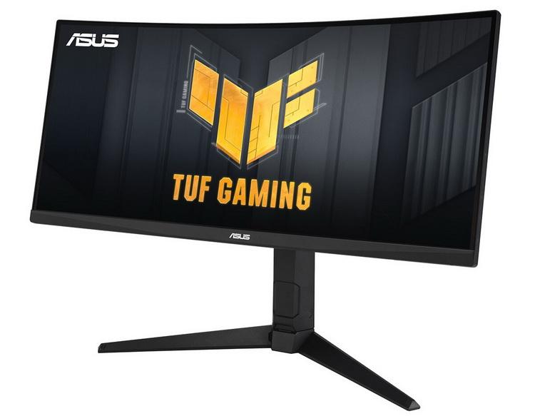 ASUS выпустила 30-дюймовый изогнутый игровой монитор TUF Gaming VG30VQL1A с разрешением 2K и частотой 200 Гц
