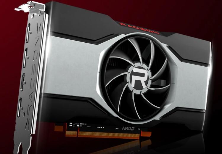 AMD представила видеокарту Radeon RX 6600 для комфортного гейминга в разрешении Full HD за $329
