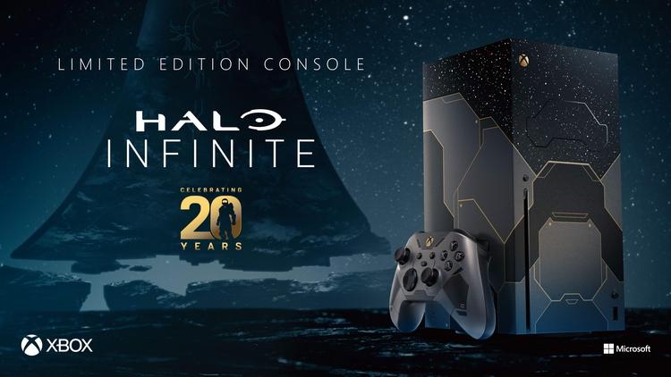 Предзаказ лимитированной версии Xbox Series X в стилистике Halo Infinite стартует в России 15 октября