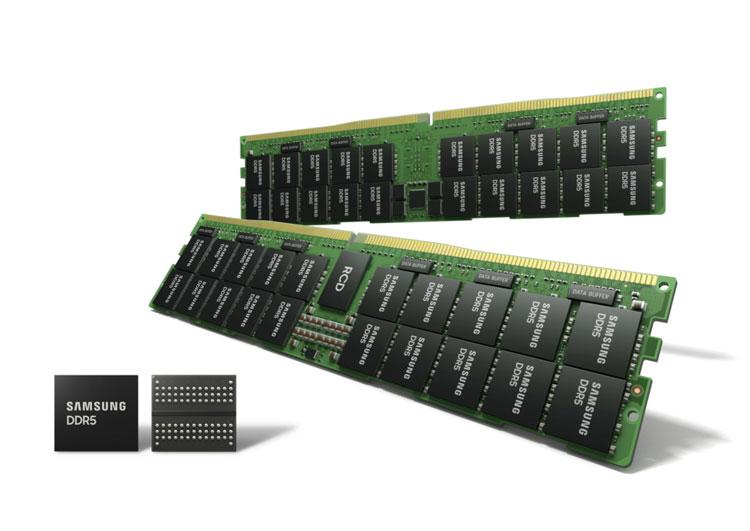 Samsung начала массовое производство самой современной оперативной памяти DDR5 по техпроцессу 14-нм EUV