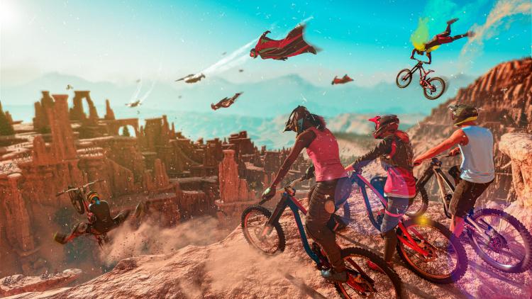 Сегодня в грядущую Riders Republic от Ubisoft можно поиграть бесплатно