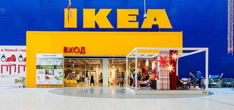 Большинство магазинов Ikea в России полностью перешли на солнечную энергию
