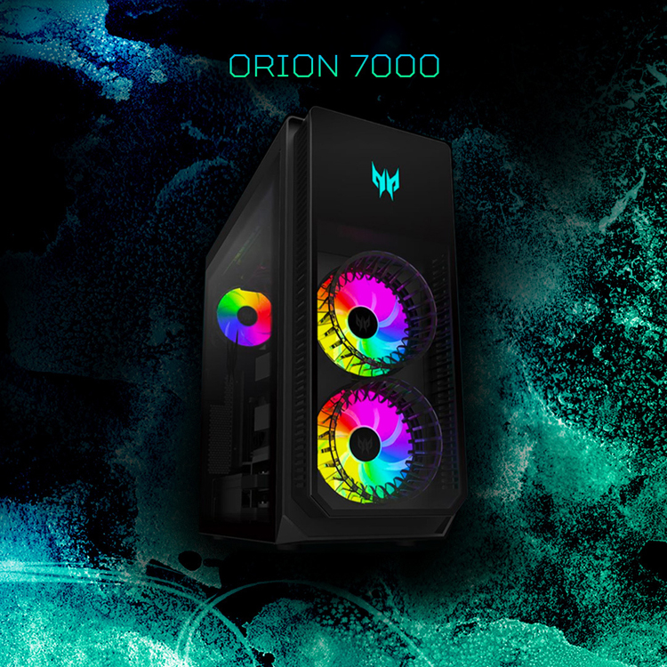 Acer представила Predator Orion 7000 — первый в мире игровой компьютер на Intel Alder Lake