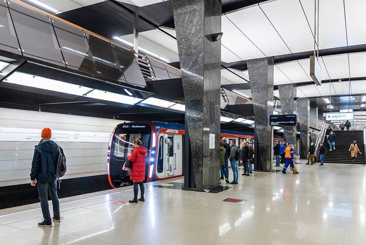 Оплатить лицом проезд в метро Москвы теперь можно на всех станциях