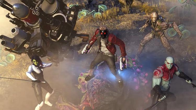 Видео: план Б и летучка в новом рекламном ролике Marvels Guardians of the Galaxy