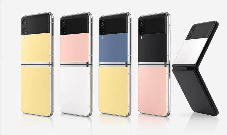 Samsung представила Galaxy Z Flip3 Bespoke Edition  смартфон с настраиваемым дизайном