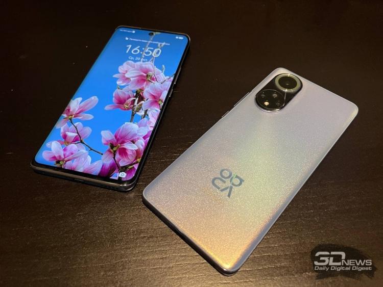 Huawei nova 9 представлен в России  продвинутый смартфон за 40 тыс. рублей с Snapdragon 778G, но без 5G