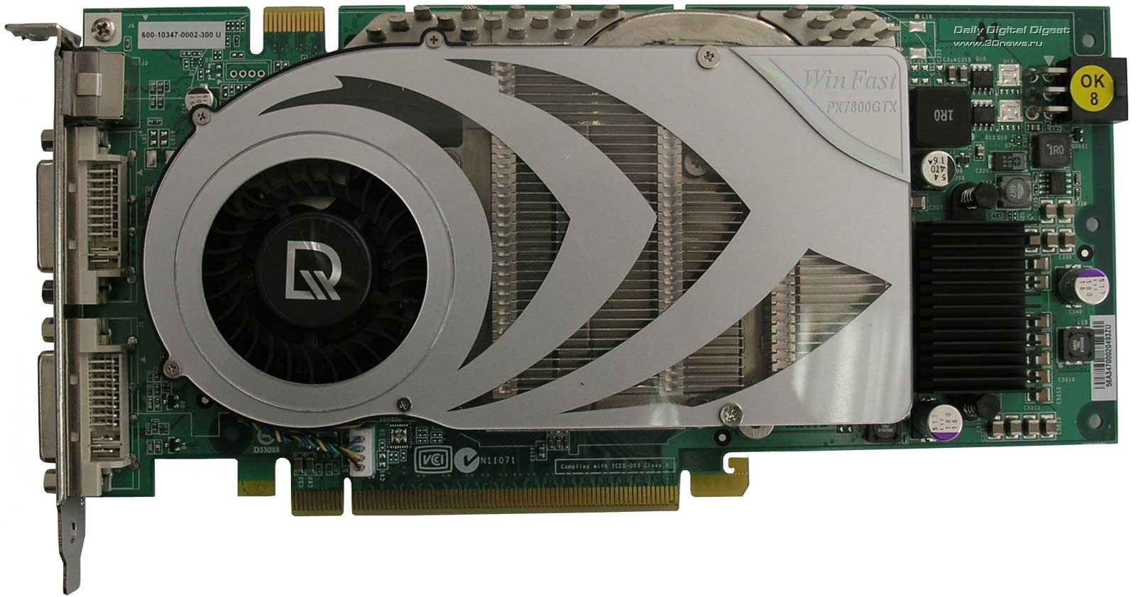 LEADTEK GeForce PX7800GTX Driver Windows