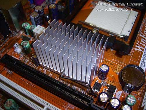Foxconn WinFast 6100K8MA-RS на NVIDIA GeForce 6100 / Материнские платы