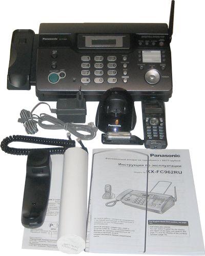 Инструкция К Телефону Panasonic Кх-Fc 962