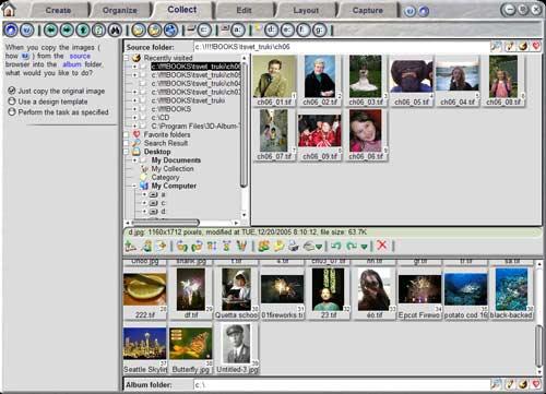 Программу для создания фотоальбома и коллажей