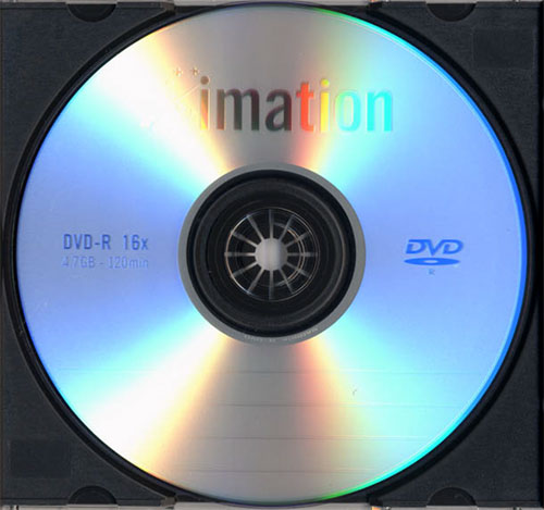 Imation DVD-R 16x box