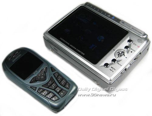 Mustek PVR-H140 Portable Media Player New