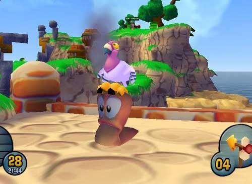 Worms 3-D
