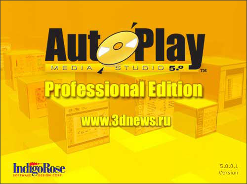 AutoPlay Media Studio 5.0