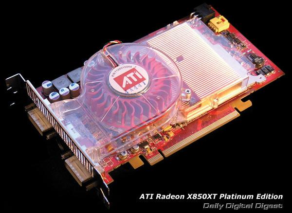 ATI RADEON X850 XT PLATINUM DRIVERS WINDOWS 7