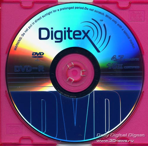 Digitex DVD-R 16x