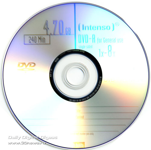 Intenso DVD-R 8x