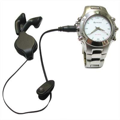 Наручные часы с плеером