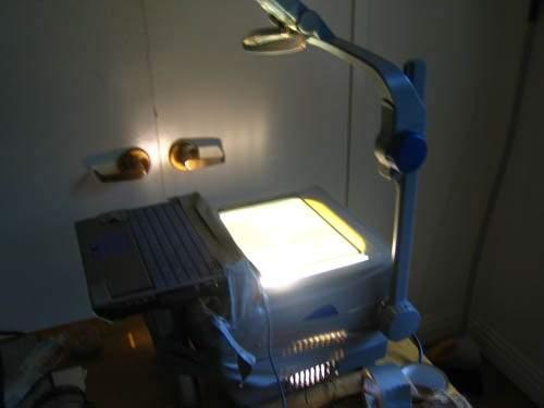 Проектор для ноутбука своими руками