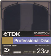 TDK Professional Disc PD-RE23CN Blu-Ray