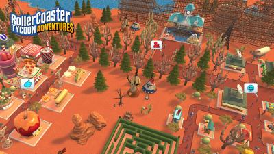 """Экономическая стратегия RollerCoaster Tycoon Adventures выйдет на Switch в конце ноября"""""""
